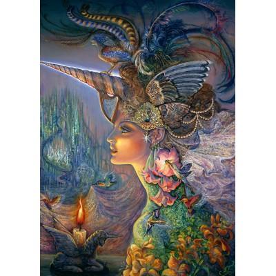Puzzle Grafika-T-00361 Josephine Wall - My Lady Unicorn