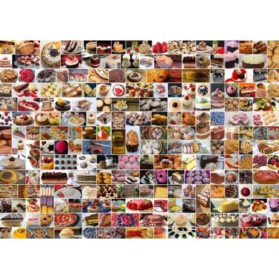 Puzzle Grafika-T-00372 Collage - Cakes