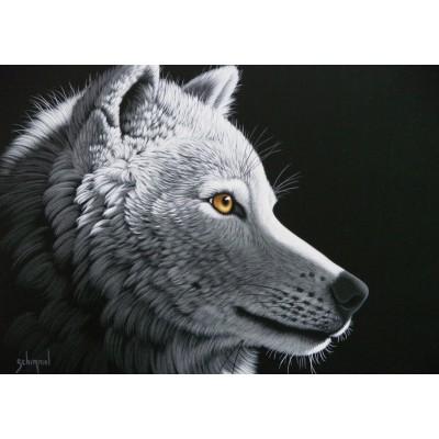 Puzzle Grafika-T-00408 Schim Schimmel - Wolf Light