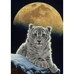 Puzzle  Grafika-T-00410 Schim Schimmel - Moon Leopard