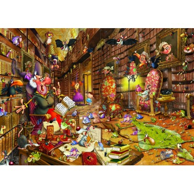 Puzzle Grafika-T-00476 François Ruyer - Witch