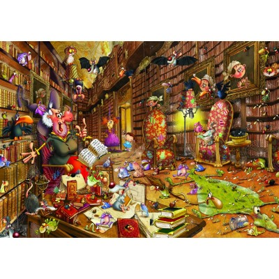 Puzzle Grafika-T-00477 François Ruyer - Witch