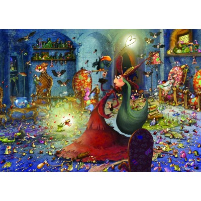 Puzzle Grafika-T-00484 François Ruyer - Witch