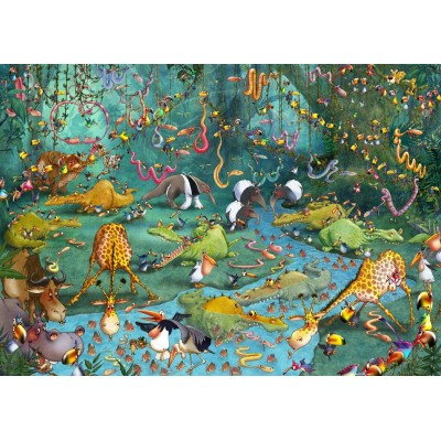 Puzzle Grafika-T-00485 François Ruyer - Jungle