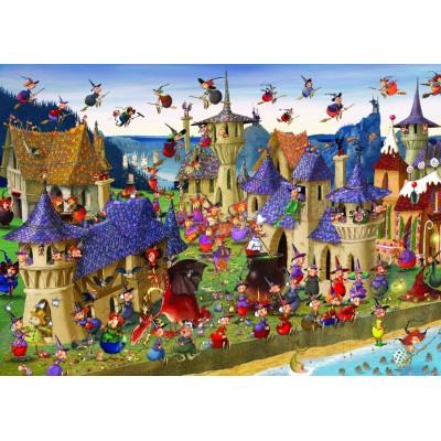 Puzzle Grafika-T-00489 François Ruyer - Witches