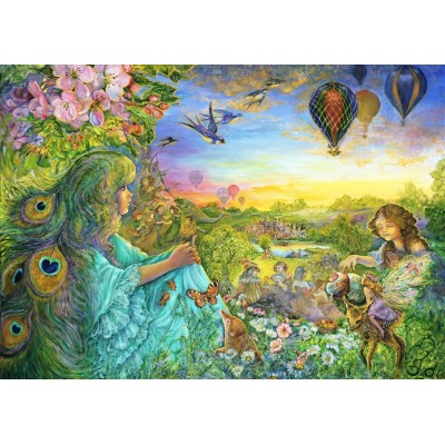 Puzzle Grafika-T-00529 Josephine Wall - Daydreaming