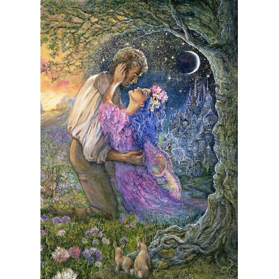 Puzzle Grafika-T-00543 Josephine Wall - Love Between Dimensions