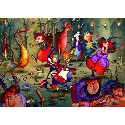 Puzzle Grafika-T-00555 François Ruyer - The Witches Festival
