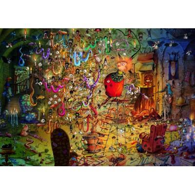 Puzzle Grafika-T-00561 François Ruyer - Witch