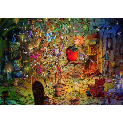Puzzle Grafika-T-00562 François Ruyer - Witch