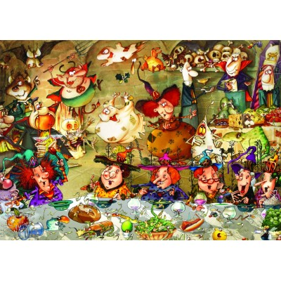 Puzzle Grafika-T-00576 François Ruyer - Witches