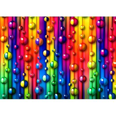Puzzle Grafika-T-00621 Multicolored Bubbles