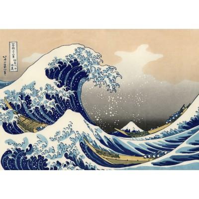 Puzzle Grafika-T-00639 Hokusai - The Great Wave off Kanagawa