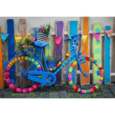 Puzzle Grafika-T-00649 My Beautiful Colorful Bike