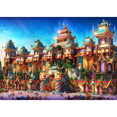 Puzzle Grafika-T-00675 Fairyland China