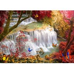 Puzzle  Grafika-T-00680 Deep Forest Waterfall
