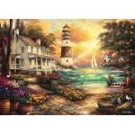 Puzzle  Grafika-T-00709 Chuck Pinson - Cottage by the Sea