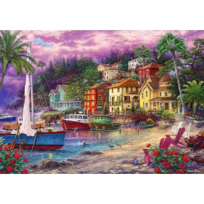 Puzzle Grafika-T-00719 Chuck Pinson - On Golden Shores