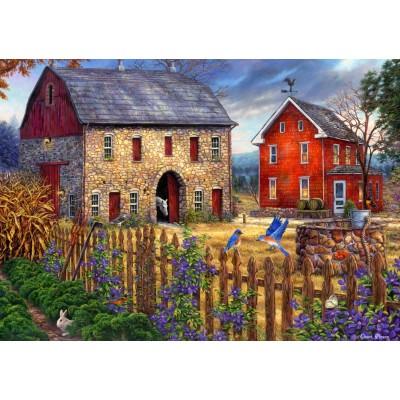 Puzzle Grafika-T-00739 Chuck Pinson - The Bluebirds' Song