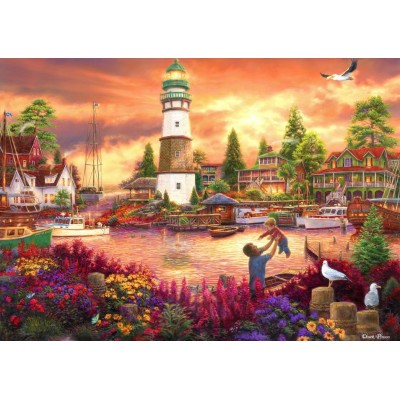Puzzle Grafika-T-00755 Chuck Pinson - Love Lifted Me