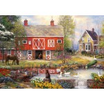 Puzzle  Grafika-T-00761 Chuck Pinson - Reflections On Country Living