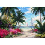 Puzzle  Grafika-T-00767 Chuck Pinson - Sea Breeze Trail