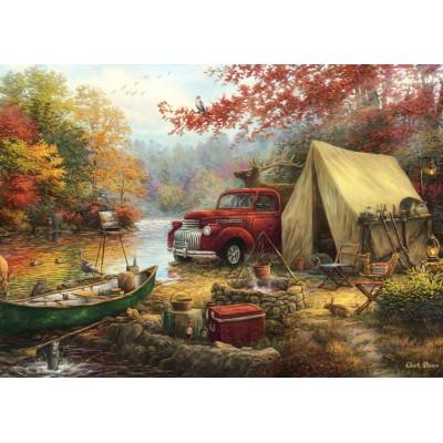 Puzzle Grafika-T-00775 Chuck Pinson - Share the Outdoors