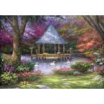 Puzzle  Grafika-T-00812 Chuck Pinson - Swan Pond