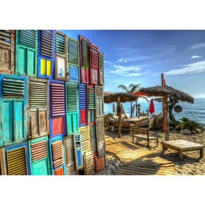 Puzzle Grafika-T-00837 Windows on Paradise