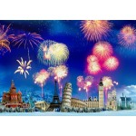 Puzzle  Grafika-T-00868 New Year's Eve around the World