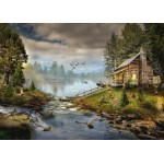 Puzzle  Grafika-T-00874 The Fisherman's Cabin