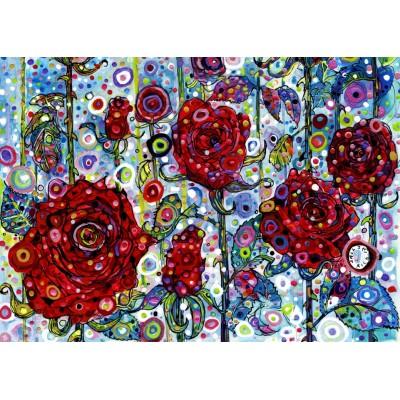 Puzzle Grafika-T-00894 Sally Rich - Roses