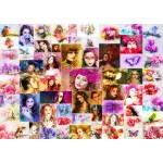 Puzzle  Grafika-T-00914 Collage - Women