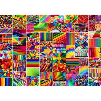 Puzzle Grafika-T-00916 Collage - Colors