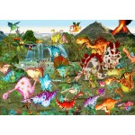 Puzzle  Grafika-T-00942 Prehistory