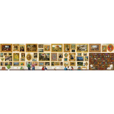 Grafika-T-00944 The World's Largest Jigsaw Puzzle - Travel around Art!