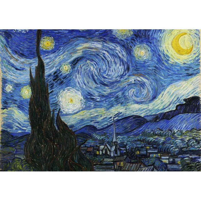 Vincent Van Gogh - The Starry Night, 1889 Puzzle 2000 pieces