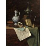Puzzle   William Michael Harnett: My Gems, 1888