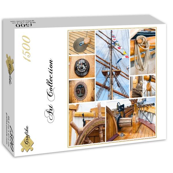 puzzle grafika 00805 1500 pieces jigsaw puzzles boats. Black Bedroom Furniture Sets. Home Design Ideas