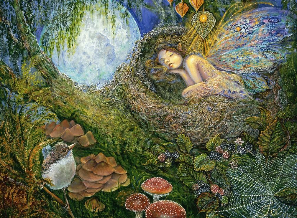 Josephine Wall - Fairy Nest 2000 piece jigsaw puzzle