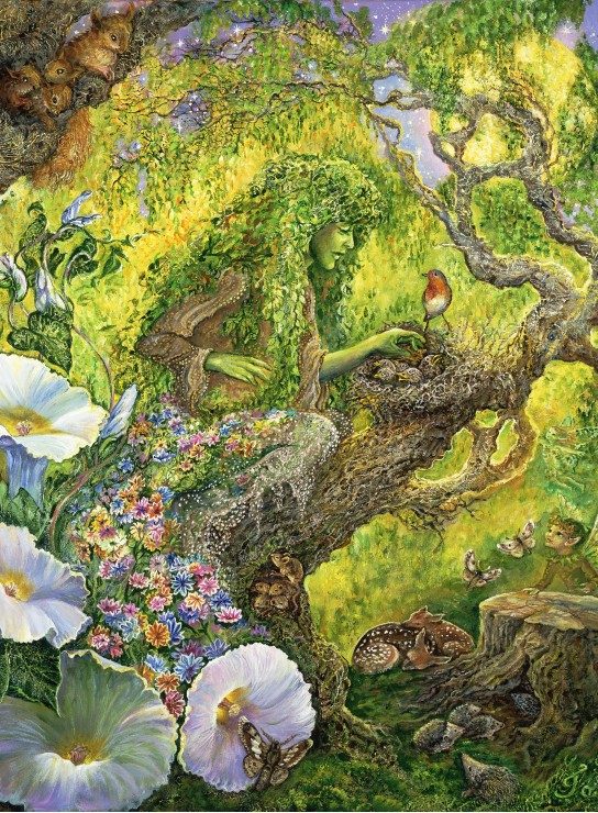 Josephine Wall - Forest Protector 2000 piece jigsaw puzzle