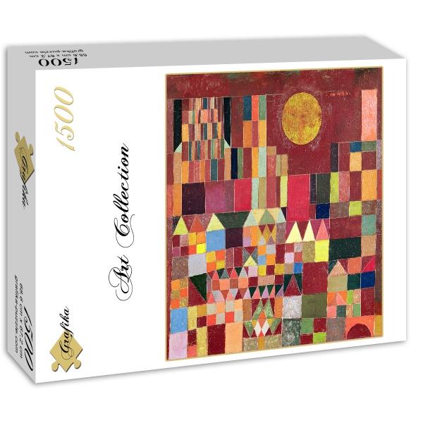 Puzzle Paul Klee Castle And Sun 1928 Grafika 00121 1500 Pieces