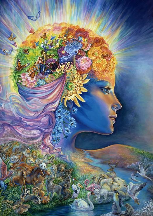 Puzzle The Presence Of Gaia Grafika T 00051 1000 Pieces