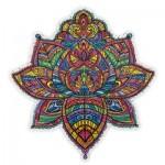 Harmandi-Puzzle-Creatif-90079 Wooden Jigsaw Puzzle - The Blossoming Lotus