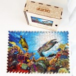 Harmandi-Puzzle-Creatif-90147 Wooden Jigsaw Puzzle - The Coral Oasis