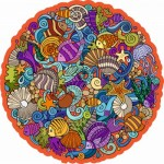 Wooden Jigsaw Puzzle - The Marina Planet