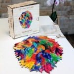Wooden Jigsaw Puzzle - The Mozaik Lion