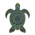 Wooden Jigsaw Puzzle - The Tropical Turtle