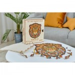 Wooden Puzzle - The Majestic Lion