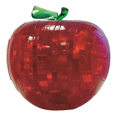 HCM-Kinzel-103005 Jigsaw Puzzle - 44 Pieces - 3D - Beautiful Red Apple